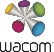 logo de la marque de tablette graphique Wacom