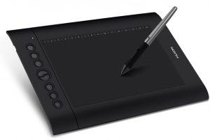 Tablette graphique pour débutant Huion h610Pro v2