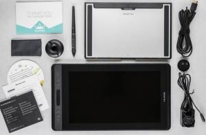 Huion Kamvas Pro 13 avec tous ses accessoires