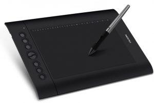 Tablette graphique pas chère Huion h610 Pro v2