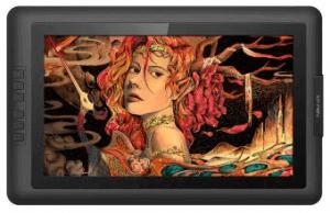 XP-Pen Artist 15.6 avec un beau dessin de femme