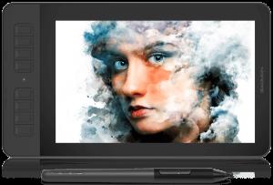 La Gaomon PD1161 vue de face affichant un dessin de femme