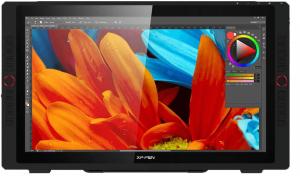 XP-Pen Artist 24 Pro ouverte sur Photoshop
